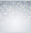 blowing christmas background with moment vector image vector image