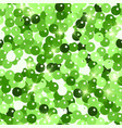 glitter seamless texture admirable green vector image