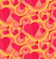 Vintage Seamless Romantic Pattern vector image