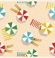 summer beach vacation top view women pattern vector image