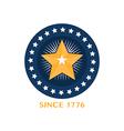 Soccer Football Badge circle vector image