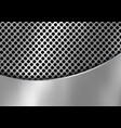 abstract silver metal background made from vector image