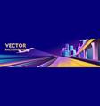 banner traffic vector image