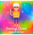 Dancing Queen vector image vector image