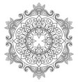 decorative ethnic mandala pattern anti-stress vector image vector image