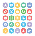 Design and Development Icons 1 vector image vector image