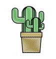 doodle ecology plants conservation inside vector image vector image