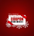 End of year sale Christmas sale design template vector image vector image