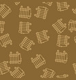 house heating seamless pattern vector image vector image