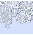 ornate greeting card christmas decoration vector image vector image