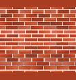 red brick wall seamless brick wall pattern vector image vector image