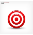 target icon Business aims concept vector image