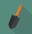 Trowel flat icon vector image