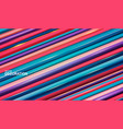 background with volumetric diagonal stripes vector image vector image