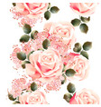 Flower pattern with peony and ornament