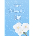 International Happy Women s Day concept vector image vector image