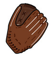 isolated baseball icon vector image vector image