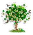 money tree vector image