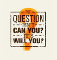 question everything creative concept vector image vector image