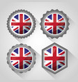 united kingdom country flag vector image