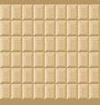 white chocolate bar seamless background pattern vector image