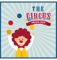Clown icon Circus and Carnival design vector image vector image