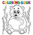 coloring book valentine topic 4