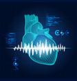 heartlight vector image vector image