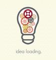 idea loading vector image vector image