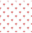 large drops of blood pattern vector image vector image