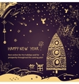 New Year wishes vector image vector image