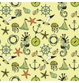 Sea theme vector image vector image