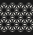 seamless pattern triangles rhombuses hexagons vector image vector image