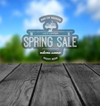 Spring sale badges logos and labels for any use vector image vector image