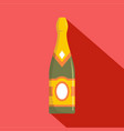 sweet champagne icon flat style vector image vector image