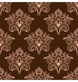 vintage persian styled floral seamless pattern vector image