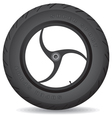 Wheel for a sports bike on a white background vector | Price: 1 Credit (USD $1)