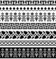 Ancient Greek pattern - seamless set of designs