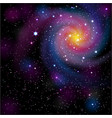 galaxy background vector image vector image