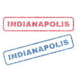 indianapolis textile stamps vector image vector image