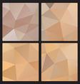 Polygon gray color vector image vector image