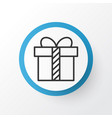 present icon symbol premium quality isolated gift vector image vector image