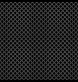 seamless pattern in fish scale design vector image vector image