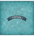 Vintage old retro background vector image