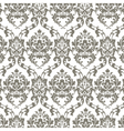 Classic Luxury Damask pattern vector image