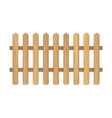 fence of wooden boards vector image