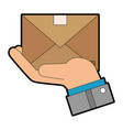 mail or email symbol vector image vector image