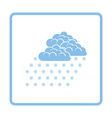 Snowfall icon vector image