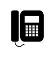 business phone icon vector image vector image