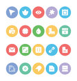 Design and Development Icons 13 vector image vector image